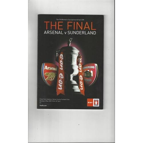 Women's Cup Final Football Programmes