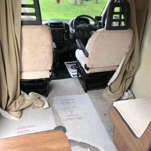 2002 (52)reg Citroen Relay TD HDi LWB Camper Van 2 Berth FIXED BED - 64455 Miles