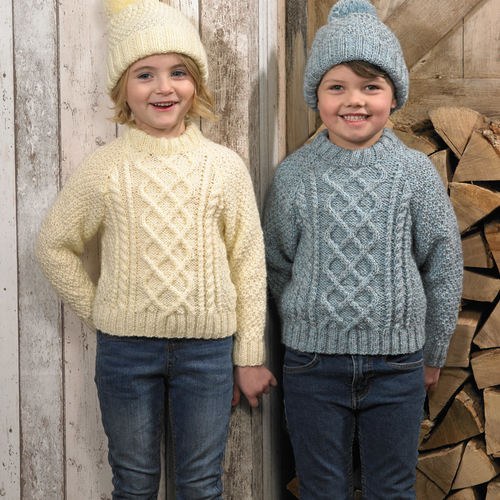 JB626 Aztec Aran Childrens Pattern
