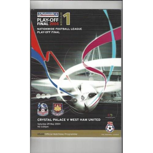 League Play Off Final Football Programmes