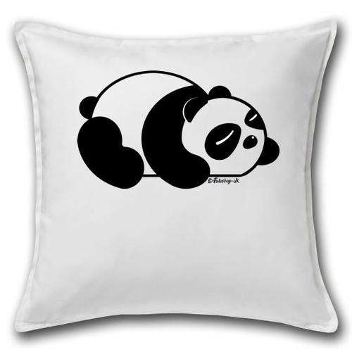 'Sleepy Panda' Cushion