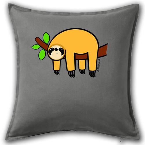 'Orange Sloth' Cushion