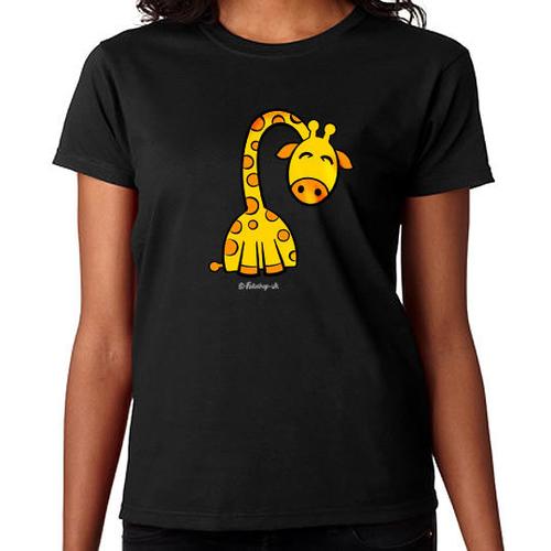 'Sleepy Giraffe' T-Shirt
