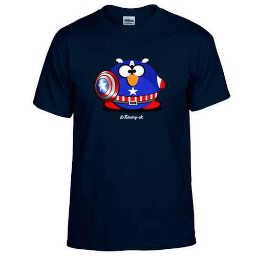 'Captain Fat Penguin' T-Shirt