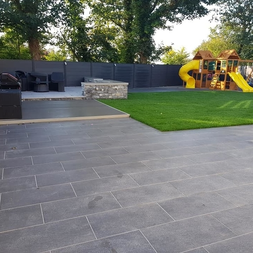 Granito Anthracite Porcelain Paving