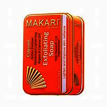 Makari Extreme Carrot & Argan Oil Bar Soap 7oz. – Anti-Aging Soap Exfoliates & Lightens Skin with Organiclarine™ – Whitening Treatment for Dark Spots, Acne Scars, Sun Patches & Hyperpigmentation