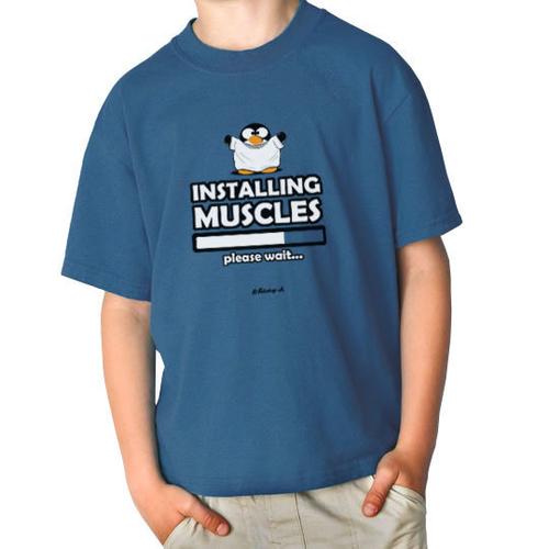 'Installing Muscles' T-Shirt