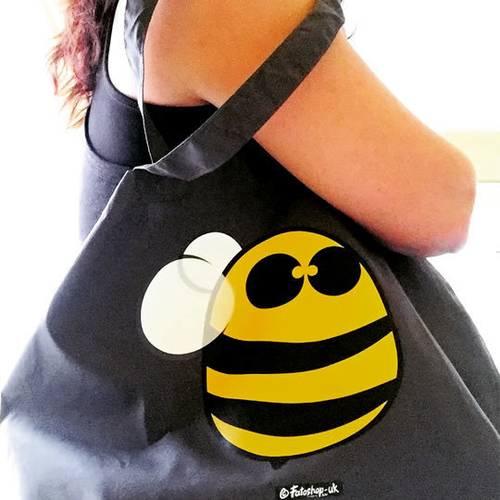 'New Bee' Maxi Tote