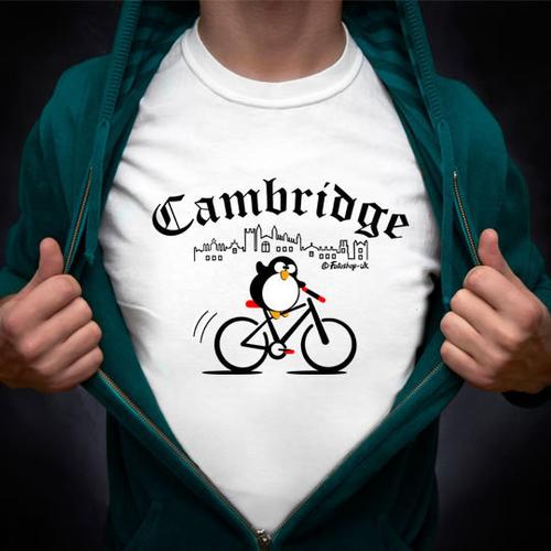 'Cambridge Cyclist' T-Shirt