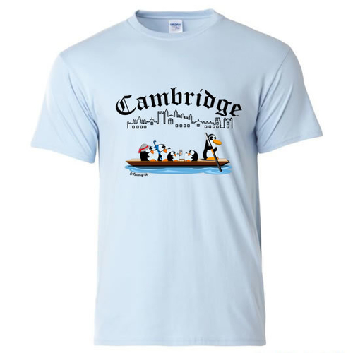 'Punting in Cambridge' T-Shirt