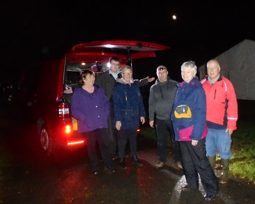 Stargazing with DSW at Brecon - 18 October 2019