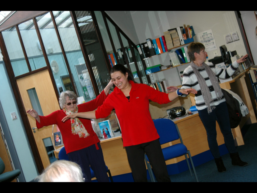 Tai chi movements for wellbeing