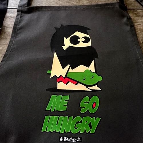 'Me So Hungry' Apron