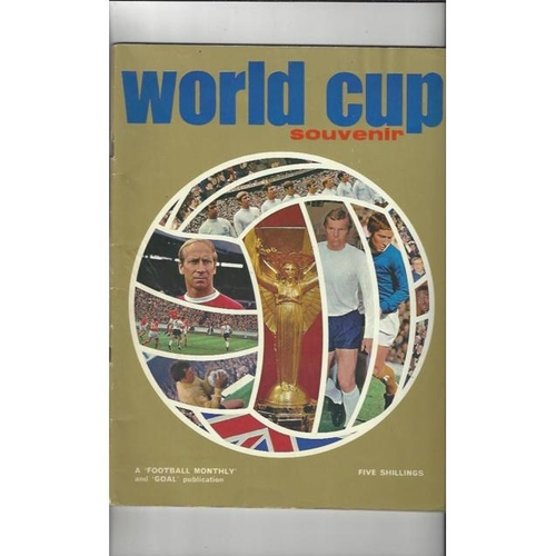 1970 World Cup Football Monthly Edition