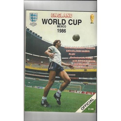 World Cup Football Programmes