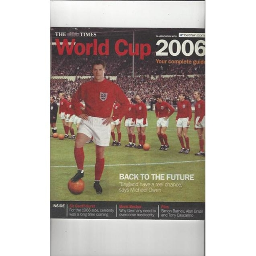 2006 World Cup Football Magazine by the Times