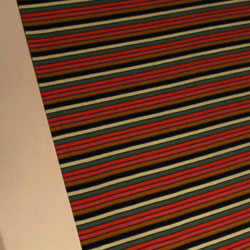 Technicolour Stripes Grey Jersey