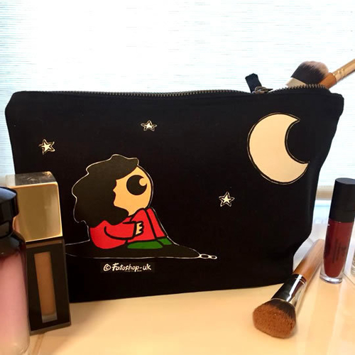 'The Girl & The Moon' Accessory Bag