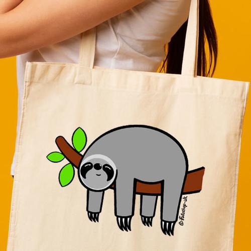 'Grey Sloth' Shopper