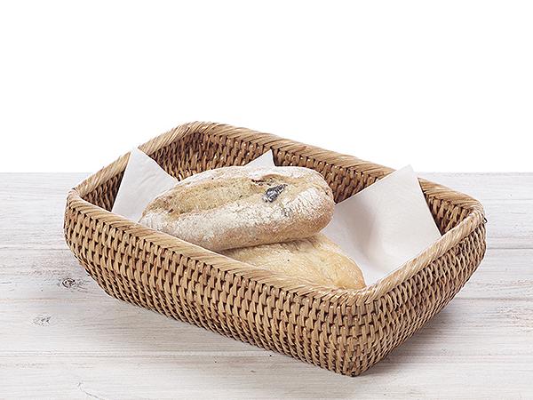 Rattan Bread Roll Basket