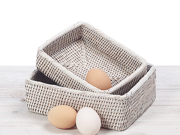 Rectangular Bread Baskets (Set of 2)