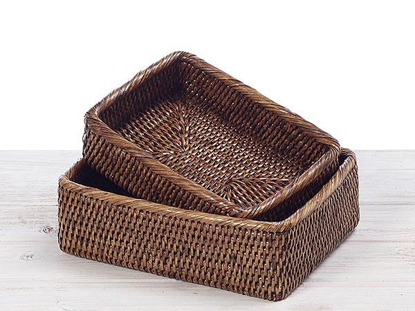 Rectangular Bread Baskets (Set of 2)