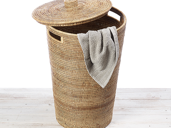Rattan Laundry Hamper / Laundry Basket