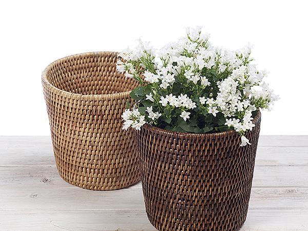 URU Rattan Flower Planter