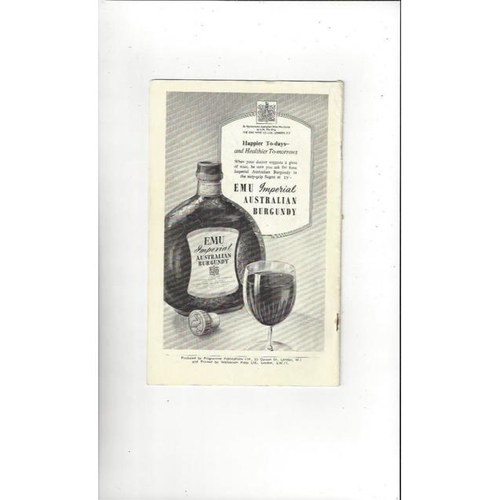 1948 Middlesex Sevens Rugby Union Programme