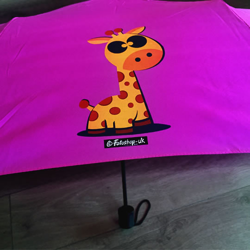 'Cute Giraffe' Brolly