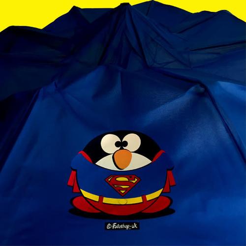 'Super Fat Penguin' Brolly