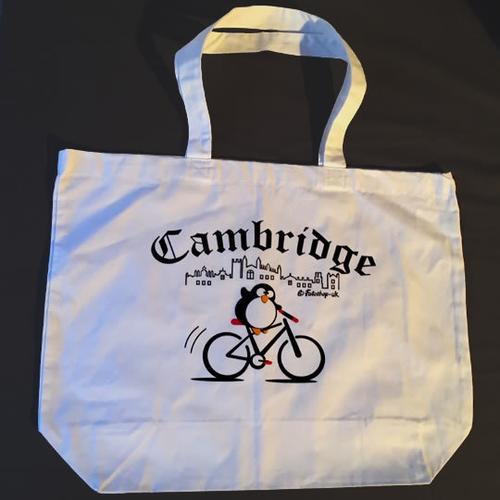 'Cambridge Cyclist' Totebag