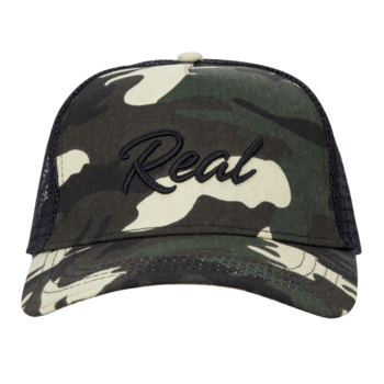 Green Camouflage Cap