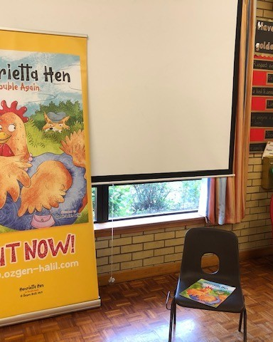 Book Reading At Cranbrook CEP School, Kent