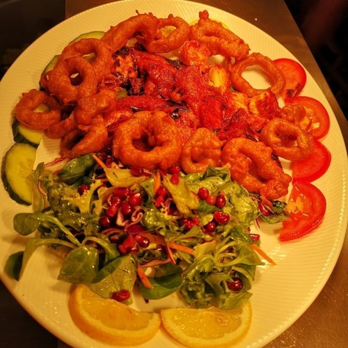 Cochin Seafood Platter For Two