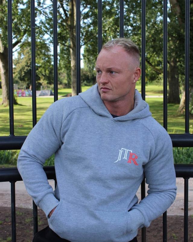 JTR Men's Hoodie Grey