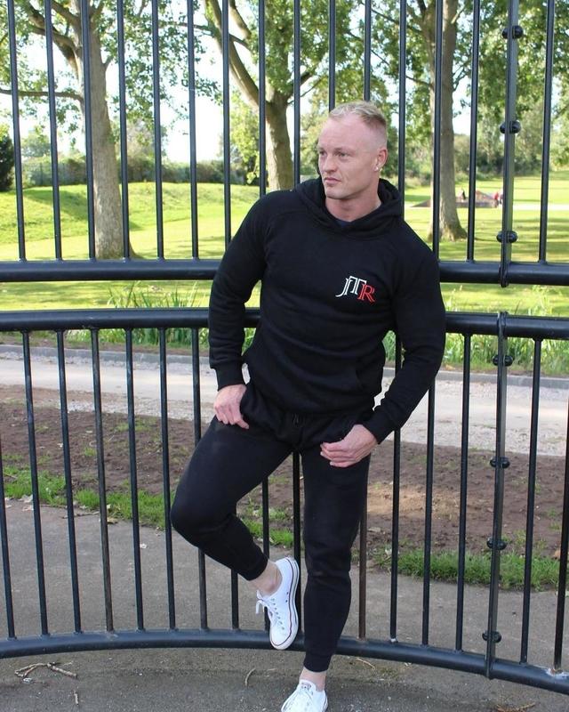 JTR Men's Hoodie Black