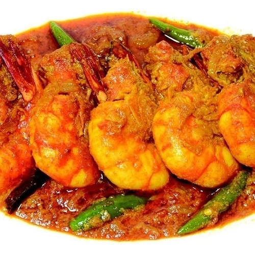 Cochin Tiger Prawn Curry