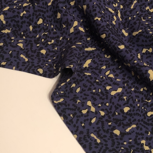 Hepburn Dark Purple Viscose
