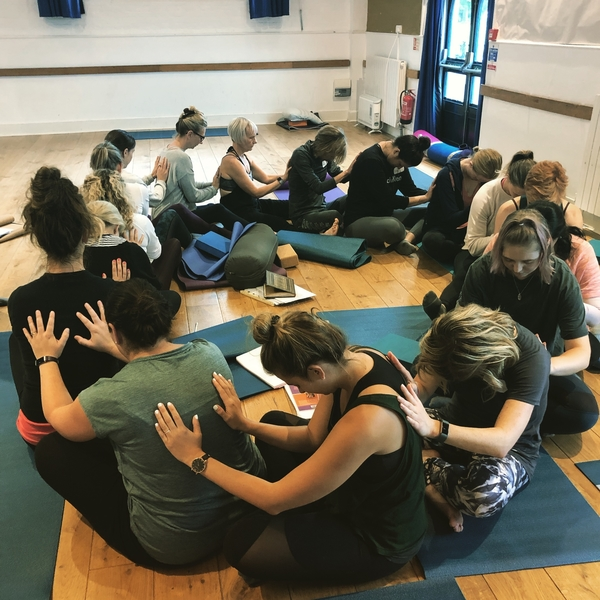 New British Wheel of Yoga Student Teachers.