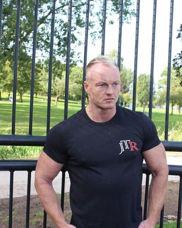 JTR Men's Comfort Tee Black