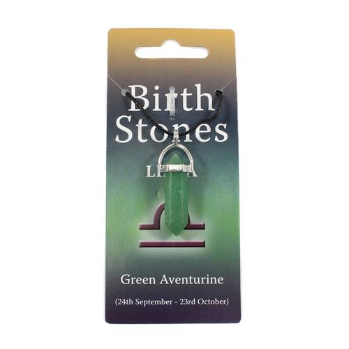 Libra Birthstone Pendant