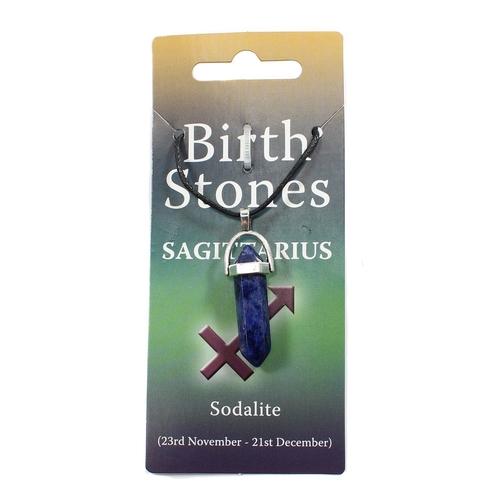 Sagittarius Birthstone Pendant