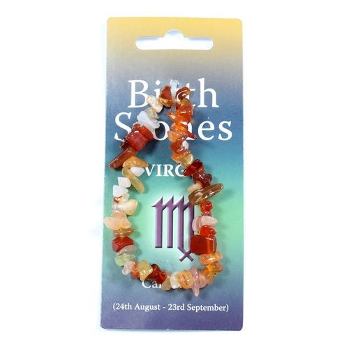Virgo Birthstone Chip Bracelet
