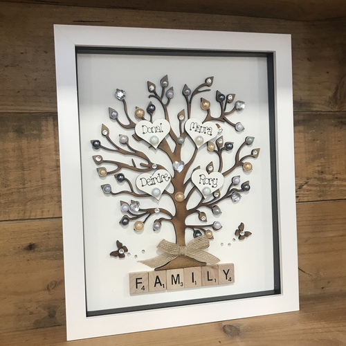 Large family tree frame