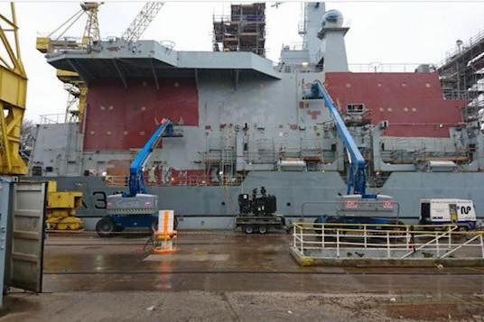 Shipyard Coating Removal