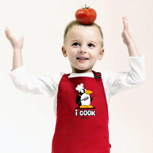 'I Cook' Apron