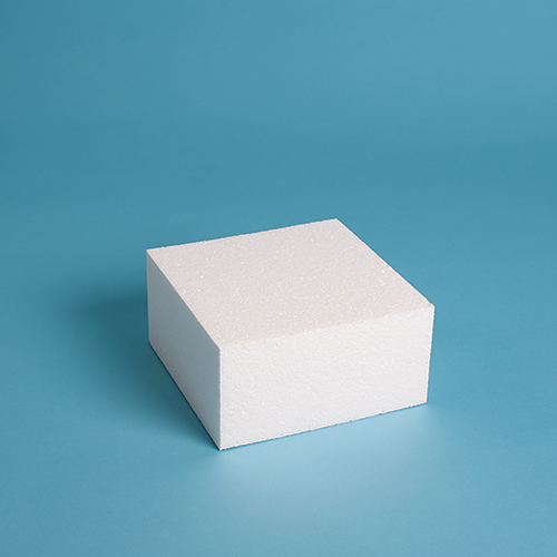 "Square Cake Dummy 6"" Height"