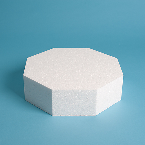 "Octagon Cake Dummy 3"" Height"