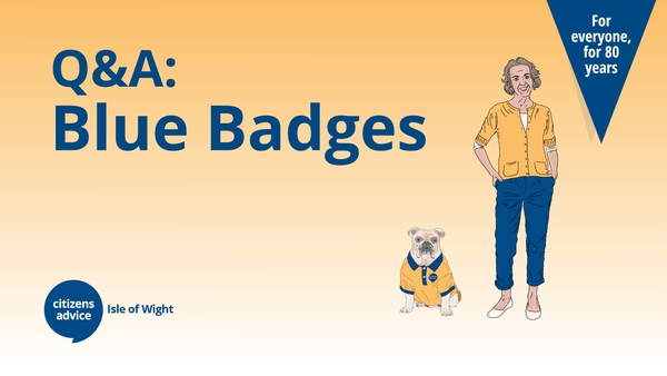 Q&A: Blue Badge Application